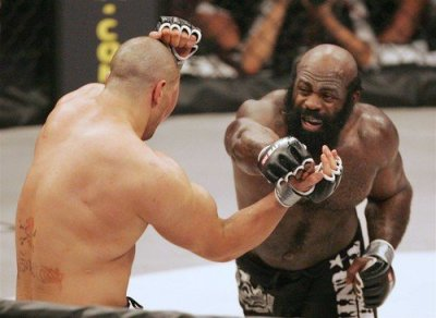 Kimbo Slice debuted MMA on newtork TV