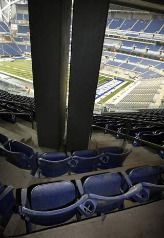 Lucas Oil Stadium view