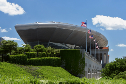 Soldier Field in Chicago, Illinois