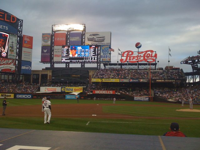 Too many ads are one of the only drawbacks of Citi Field